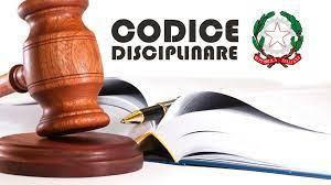 Comunicazione N. 5 – Notifica e pubblicazione aggiornata del Codice Disciplinare del personale docente e A.T.A.