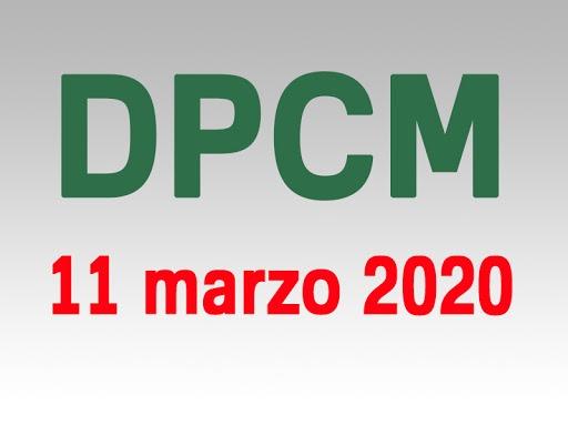 Misure organizzative conseguenti alla sospensione delle attività didattiche disposta dal D.P.C.M. 4 marzo 2020 e dalle misure urgenti disposte con D.P.C.M.11 marzo 2020.