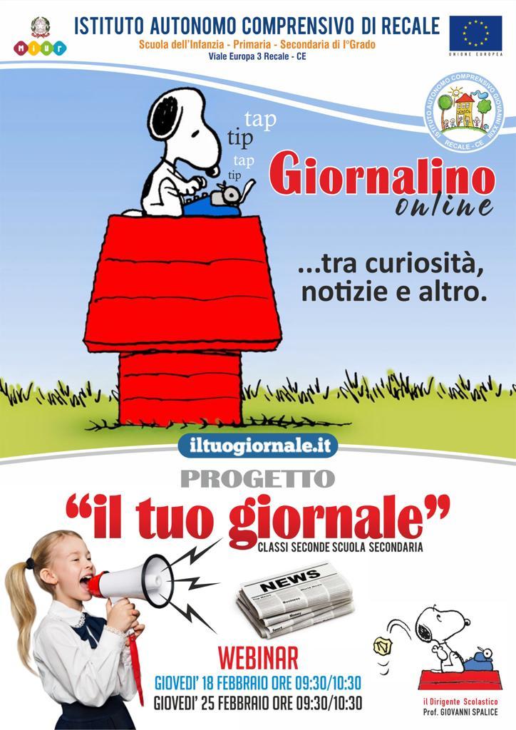 """Progetto """"Giornale in classe""""."""
