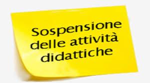 Il giorno 2 marzo sono sospese le attività didattiche